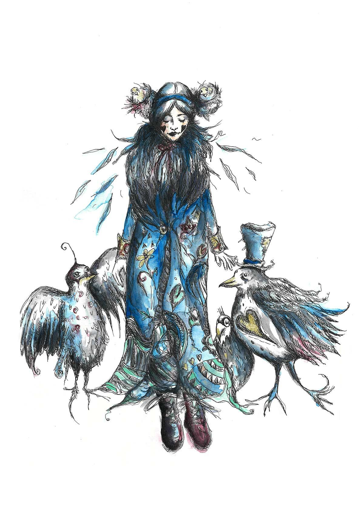 Birds Nest Hair – 2