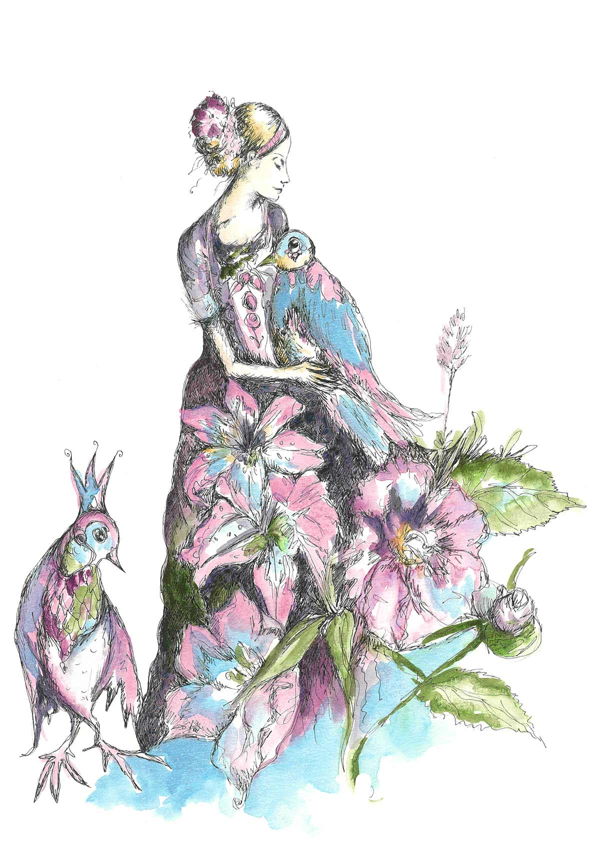 Dancer With Birds – 4